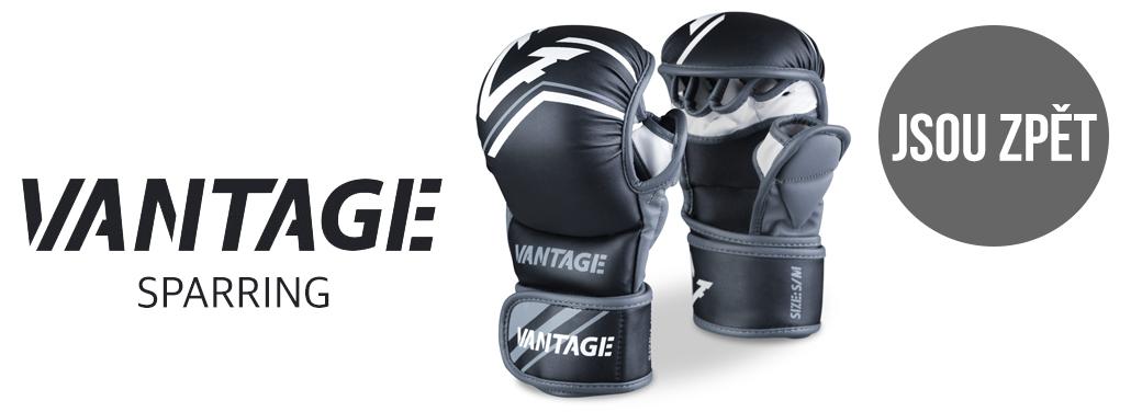 MMA rukavice Vantage sparring jsou zpět