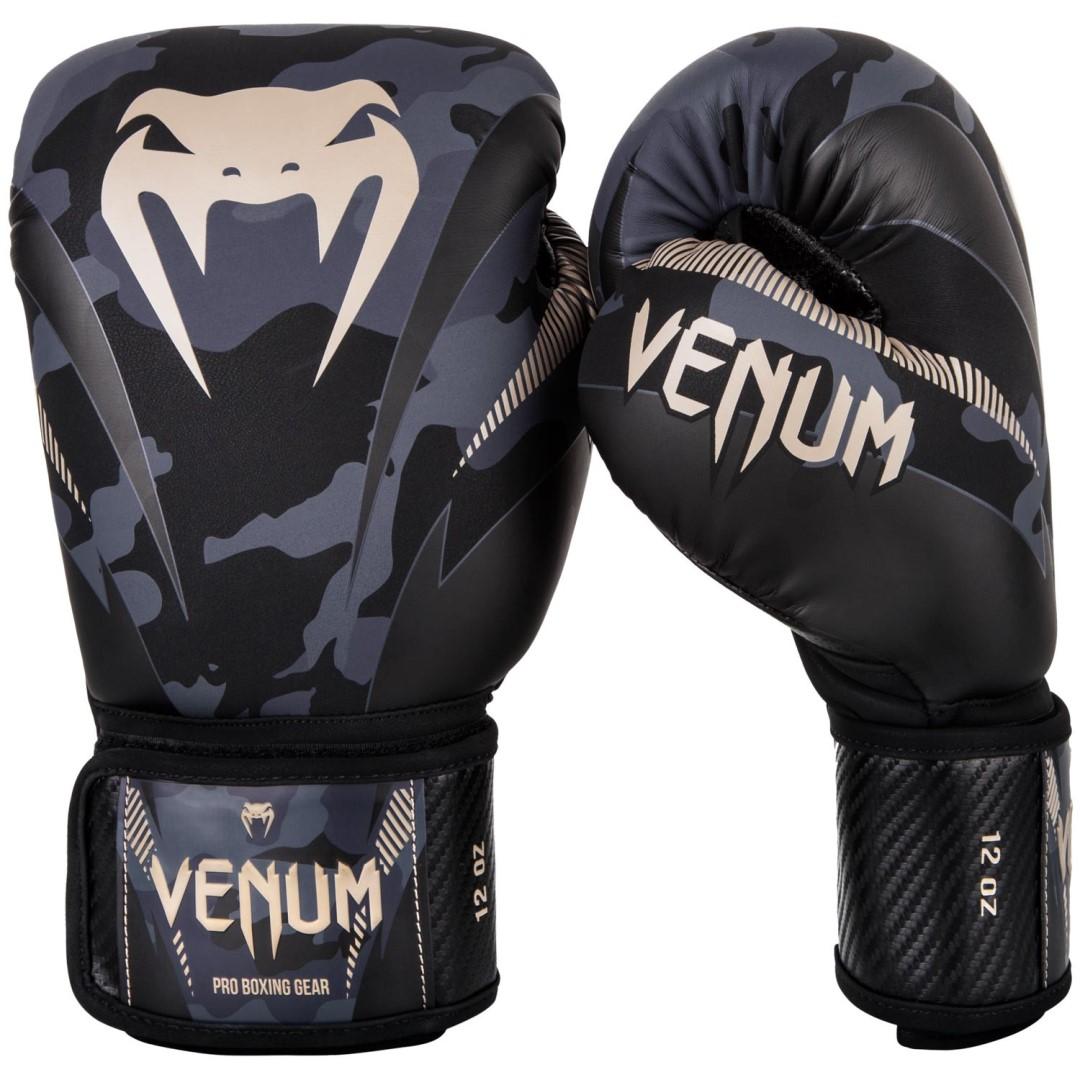 84c5b071e1c69 Boxerské rukavice Venum Impact dark/camo