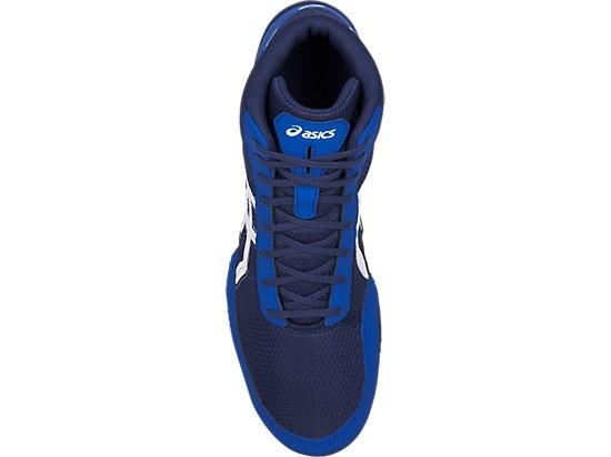 f8675d74ec49e Zápasnické boty Asics Matflex 5 modrá - JEMASPORT