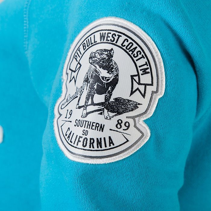 Dámská mikina Pitbull West Coast California azurová - S - JEMASPORT d0d29dab9c