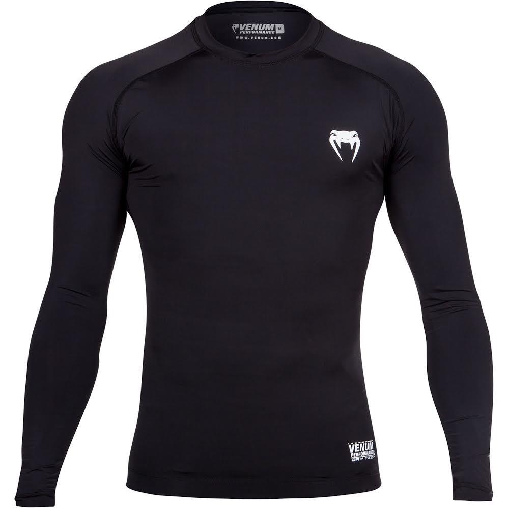 Kompresní tričko Venum Contender 2.0 dlouhý rukáv černá 60dd8d358f8