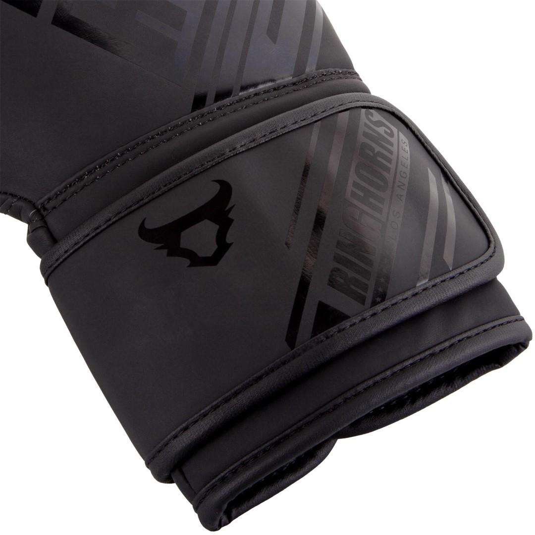 Boxerské rukavice RingHorns Nitro matná černá - JEMASPORT 4503d0e969