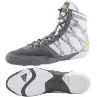 a23c3091895c1 Zápasnické boty Adidas Pretereo 3 šedo-bílá